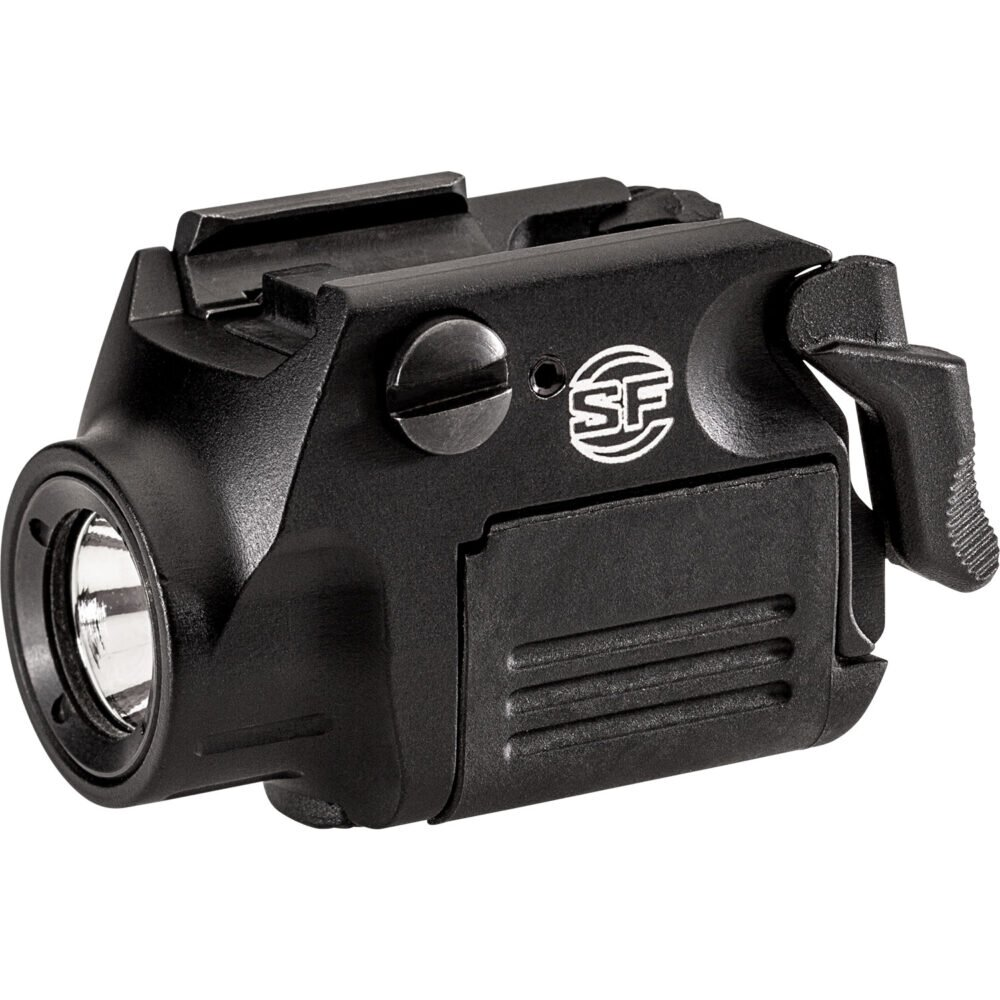 XSC Weapon Light Micro-Compact Pistol Light for Glock 43X and 48 (Railroad Models) in Black color
