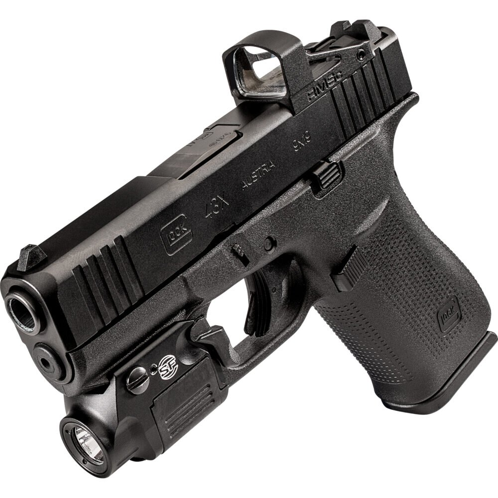 XSC-A-43X Weapon Light Handgun on gun