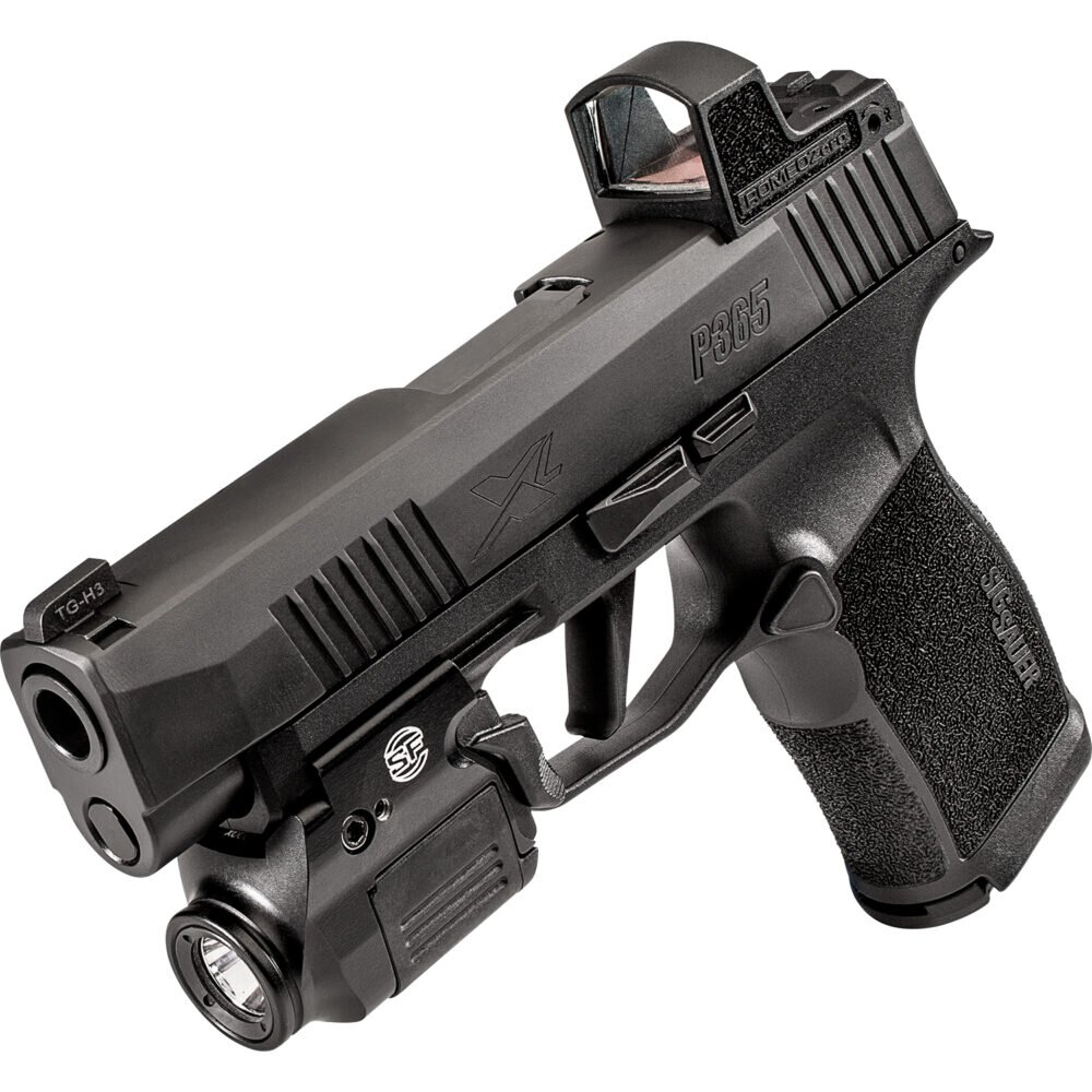 XSC Weapon Light on pistol