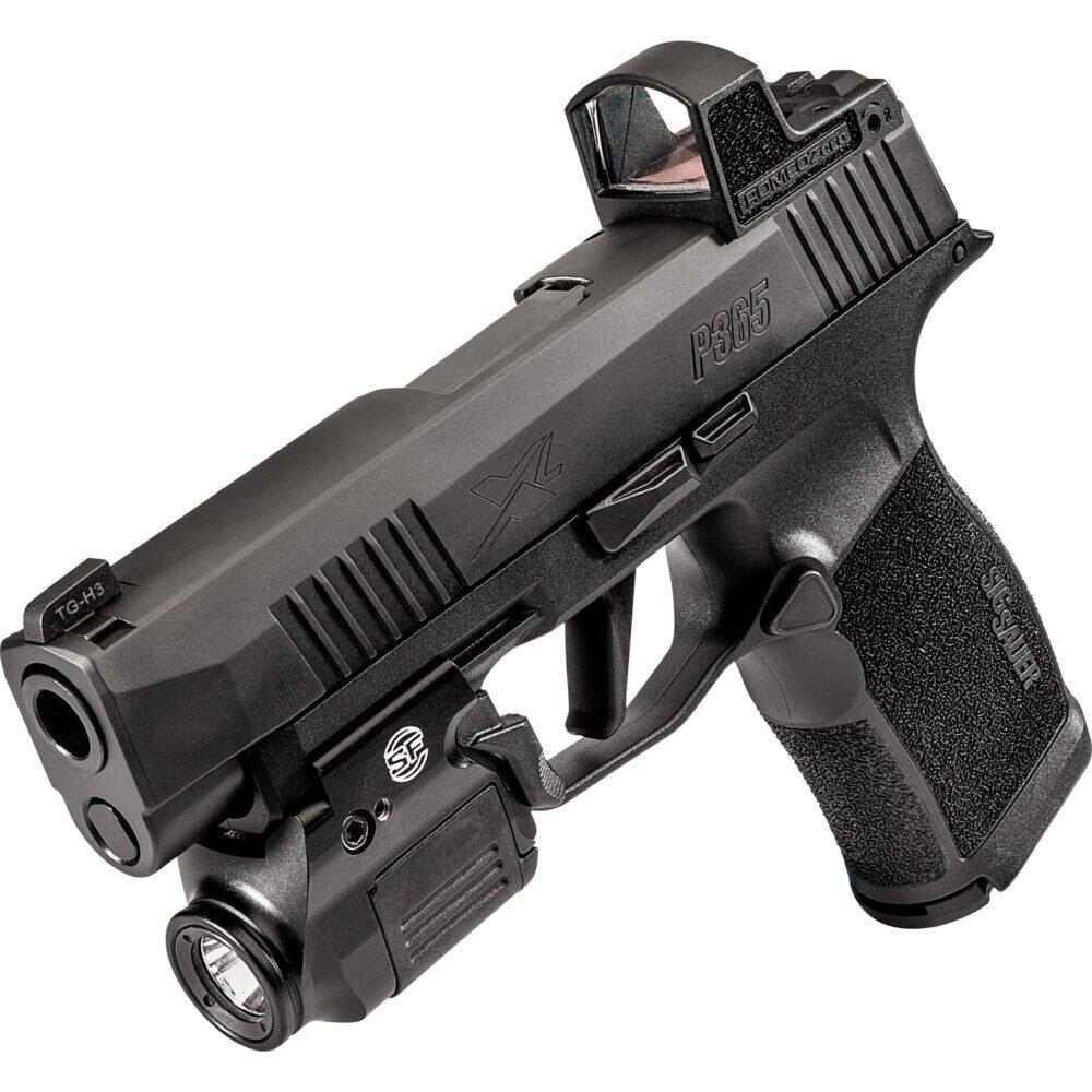 XSC Weapon Light on pistol