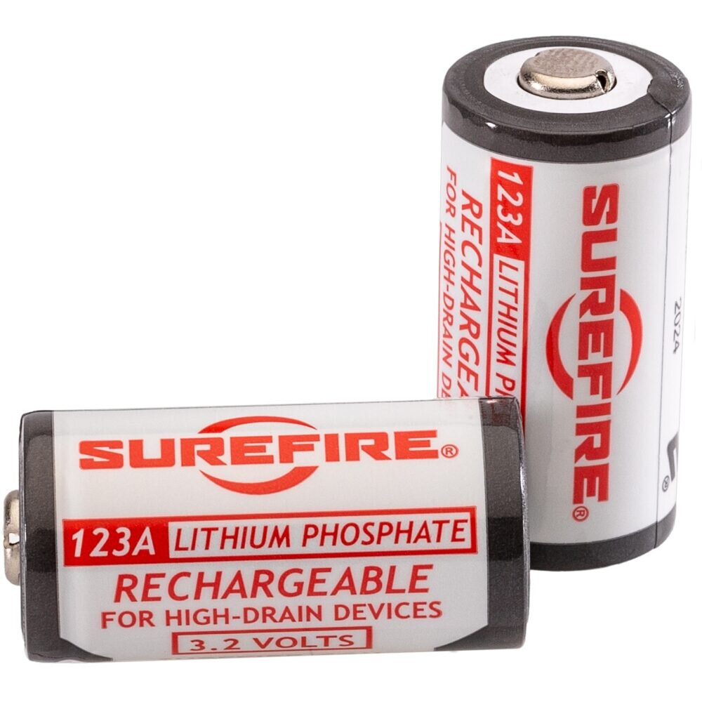 SureFire Lithium Iron Phosphate Batteries