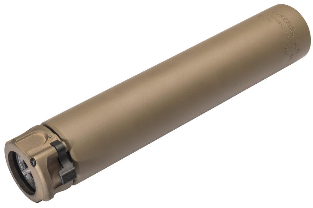 SOCOM762-Ti-DE Suppressor Gun Silencer in Dark Earth